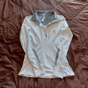 Lululemon Think Fast (?) 1/4 Zip Pullover